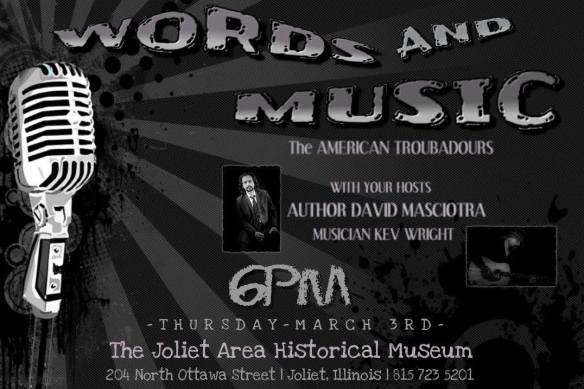 Words and Music Flyer