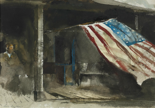Andrew Wyeth Independence Day